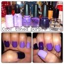 Cool Toned Purple ombré