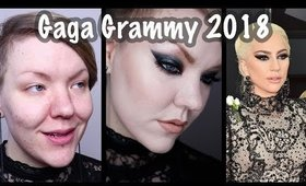 Lady Gaga 2018 Grammy makeup tutorial