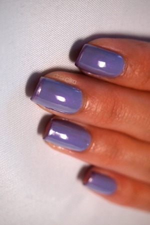31 day nail challenge: Day 6 Violet
