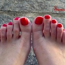 Just red!