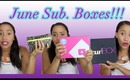 June Subscription Boxes- CurlBOX, Birchbox & Ipsy