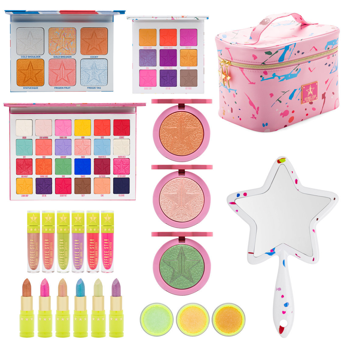 Jeffree Star Cosmetics Jawbreaker Master Collection