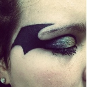 Did this on my friend for her halloween costume