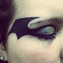 Batman eye makeup