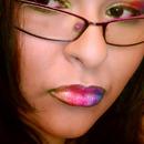 Rainbow lips and eyes