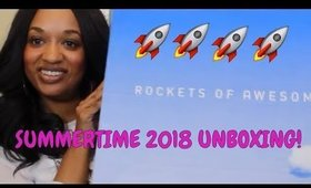 Rockets of Awesome Summer 2018 Unboxing | Size 6/7
