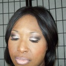 Light Pink Smokey Eye with Nude Lips