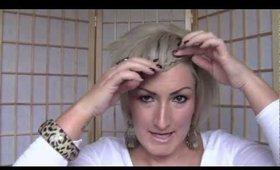 Tutorial- Braided Bangs (fringe)