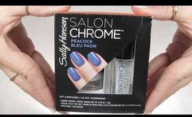 Sally Hansen Salon Chrome demo