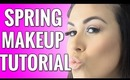 Spring Makeup Tutorial 2014 - Orange, Coral, Peach