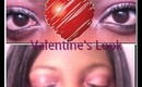 Sexy Flirty Valentines Day Makeup Tutorial!