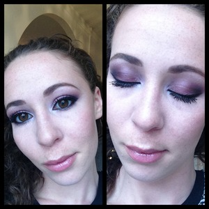 Purple gradient with a hint of smoke.