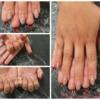 Peek-A-Boo Almond Nails