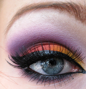 Played with my Burning heart palette for the first time! LOVE IT!  http://trickmetolife.blogg.se