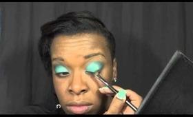 Makeup Tutorial-Spring Greens
