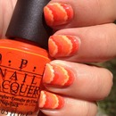"""Orange"" Nails"