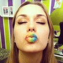 Colourful lips