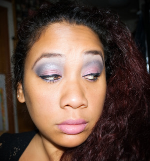 FOTD - Roselani, Ice Queen and Candy Cane Pigments by ICC