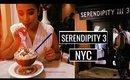 SERENDIPITY 3 NYC FROZEN HOT CHOCOLATE!