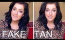 Fake Tanning For Beginners/ My Routine! ♡ | rpiercemakeup