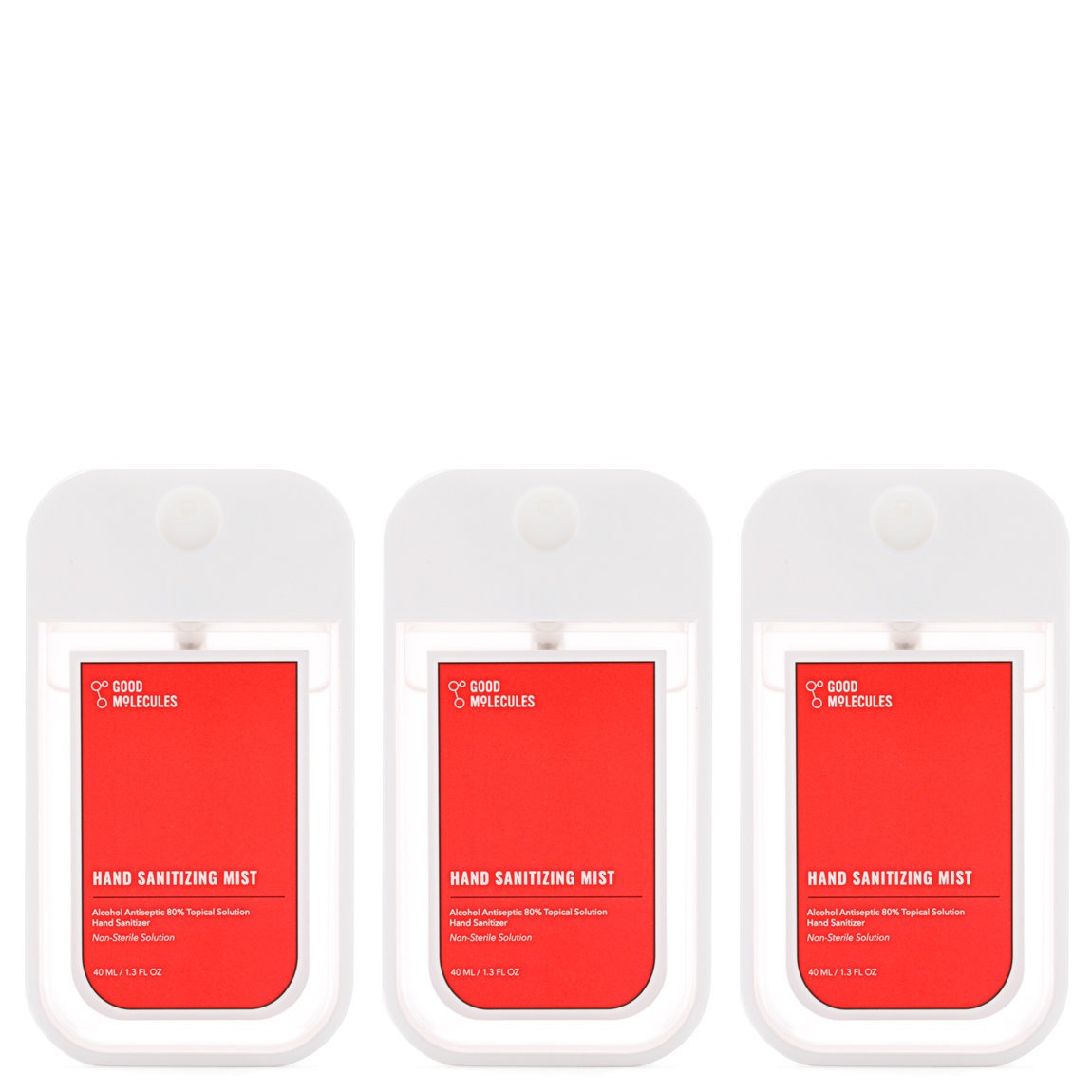 Good Molecules Hand Sanitizing Mist Trio alternative view 1 - product swatch.