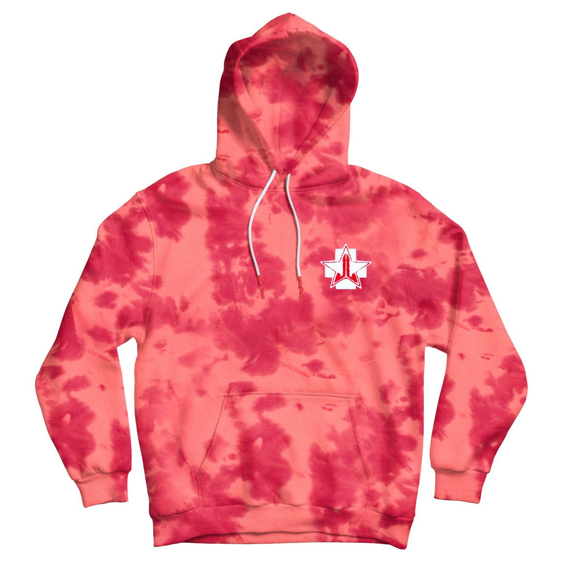 Jeffree Star Cosmetics Blood Sugar Dye Hoodie 4X-Large alternative view 1 - product swatch.