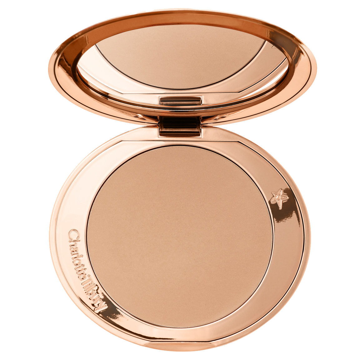 Charlotte Tilbury Airbrush Bronzer 1 Fair alternative view 1 - product swatch.