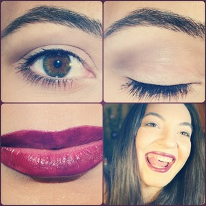 Red lips and nude eyes Video: http://www.youtube.com/watch?v=UQgIP3H1m3A