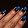 Blue Black Gradient