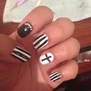 Monochrome nails 💅