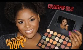 "ABH Subculture ""Dupe"" & New Colourpop Concealers ! 