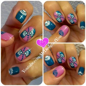Cute Nail Art For Short Nails | Mix & Match nails