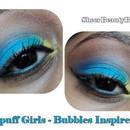 Powerpuff Girls Makeup Series - Bubbles