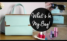 Whats In My Bag   MakeupByLaurenMarie