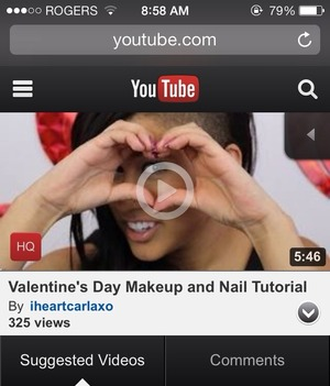 Take a look at my channel for a valentines makeup and nail tutorial! And a last minute valentines day DIY gifts ❤️ www.youtube.com/iheartcarlaxo 🎥💋