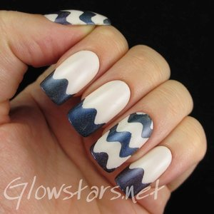 Read the blog post at http://glowstars.net/lacquer-obsession/2014/10/ombre-holographic-waves/