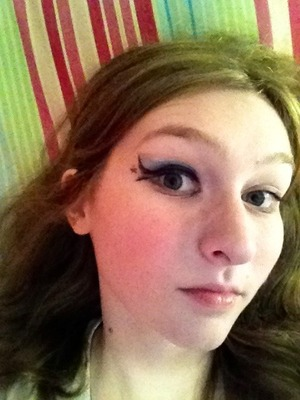 This is the makeup I did for my princess Luna cosplay