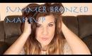 Summer Bronzed Makeup Look | elliewoods