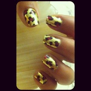 Minx nail stickers :)