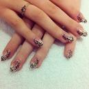 Leopard Gel Nails