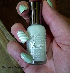 MINT SORBET WITH WHITE STRIPES