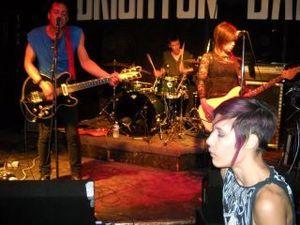 Purple Hair at the Brighton.