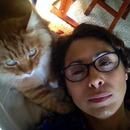My love, Kimba and I