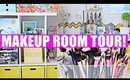 MAKEUP ROOM TOUR!