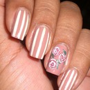 Pinstripes and Roses