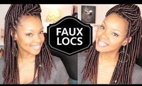 New Crochet Faux Locs! | Natural Hair Protective Style | Braid Pattern Fail