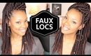 New Crochet Faux Locs! | Natural Hair Protective Style | Braid Pattern Fail