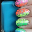 Neon Rainbow Dotticure