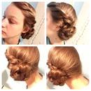 Elsa hair in Let It Go