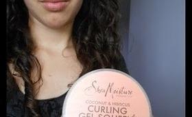 Review: Shea Moisture Curling Gel Souffle